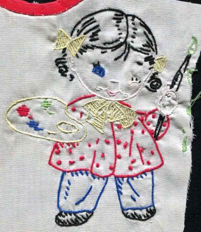 embroidered artist