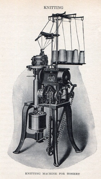 Knitting Machine 1915