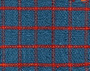 Complementary colors plaid