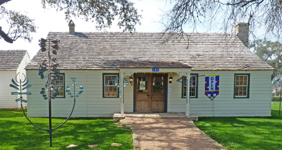 The Copper Shade Tree Gallery in Round Top, Texas