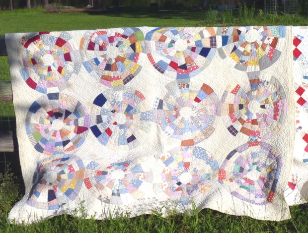 string circle quilt