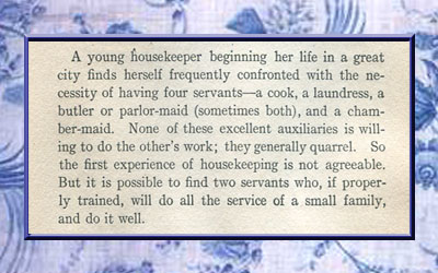 List of servants