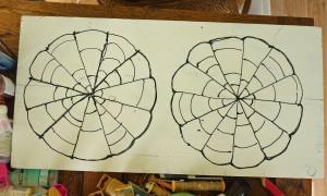 String Circle pattern