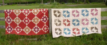 Old Red Quilts