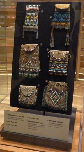 Apache beaded bags