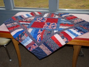 lap quilt for VA hospital