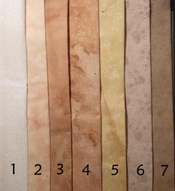 May dye samples