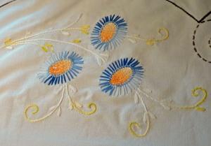 Mom's tablecloth