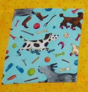 puppy fabric