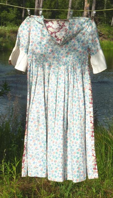 Child's Flour Sack Dress, front