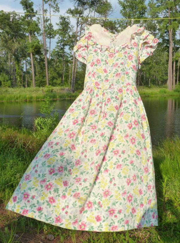 1940s child's dress