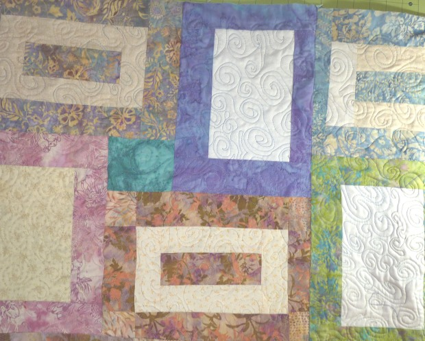 sea glass quilt blocks