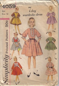 7 day dress pattern