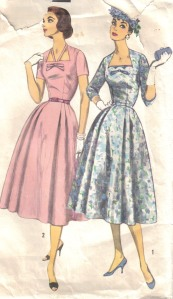 ladies dress pattern