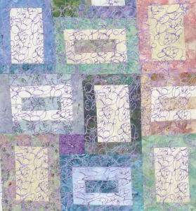 quilt blocks with purple