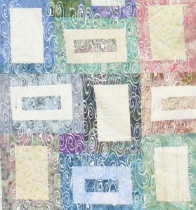 quilt blocks with white overlay