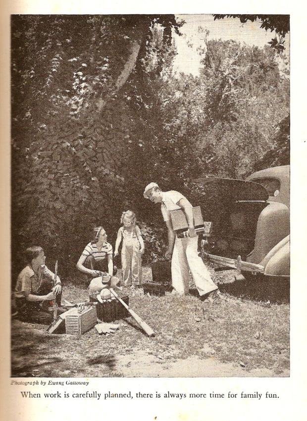 picnic scene from 1941