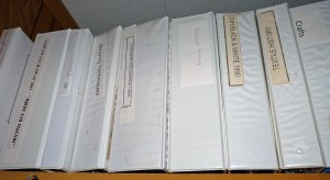 textile notebooks
