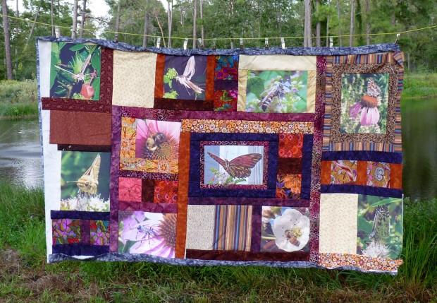 pollinator quilt