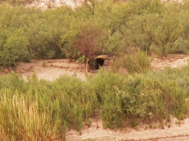 shelter on Rio Grande