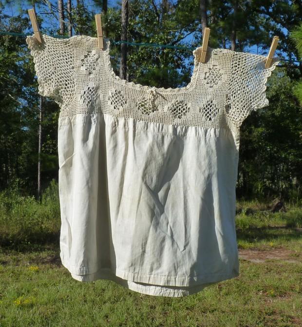 antique chemise