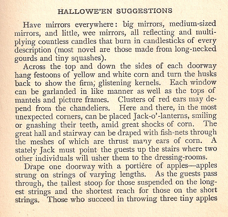 Halloween suggestions
