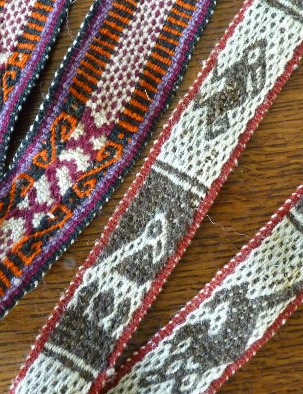 woven bands detail