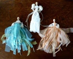 ribbon and lace angels