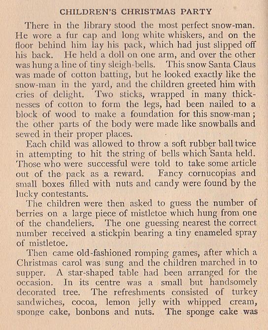 1905 children's party