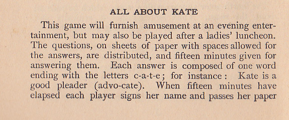 word game from 1905