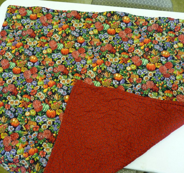 harvest lap robe