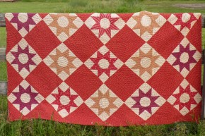 red star quilt