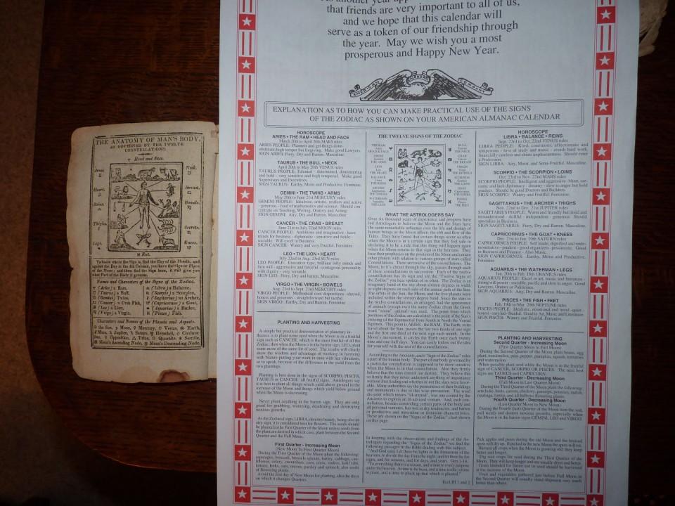 side-by-side almanacs