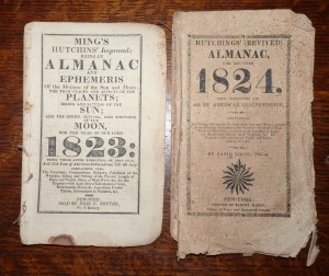 almanacs from 1823 and 1824