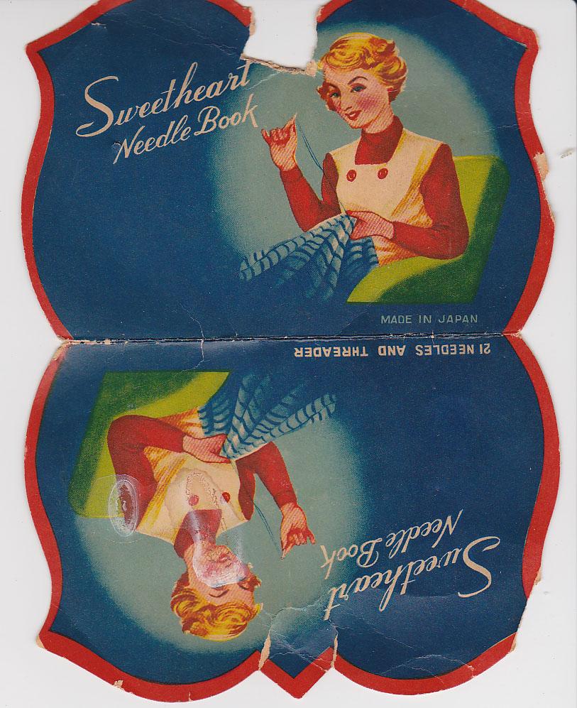 sweetheart needle book