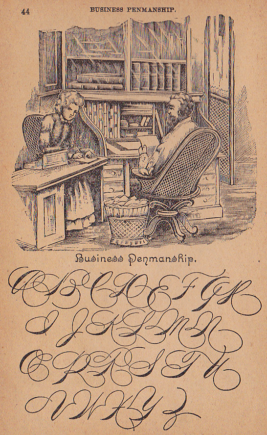 business writing 1894