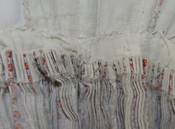 hand-sewn dress