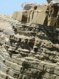 sedimentary layers