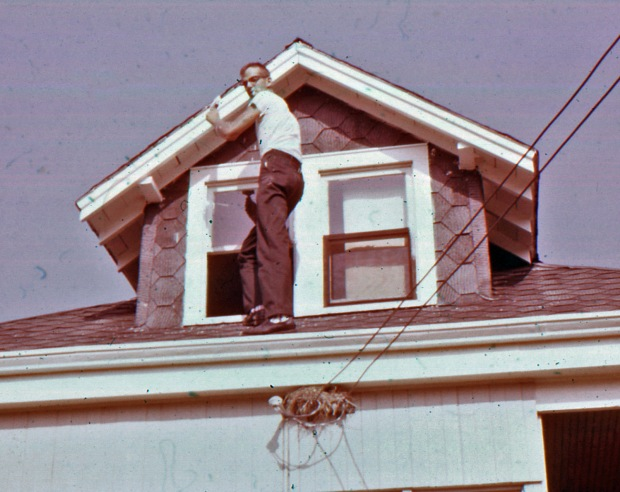 painting a dormer