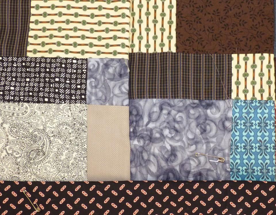 backing fabric edge