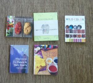 dye books