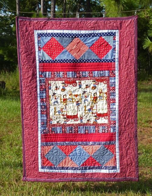 cowboy quilt