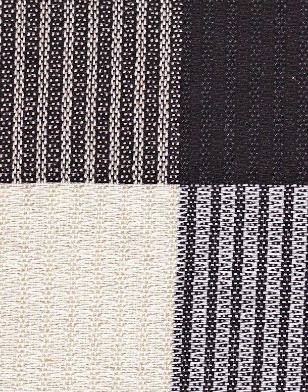 black and white sample