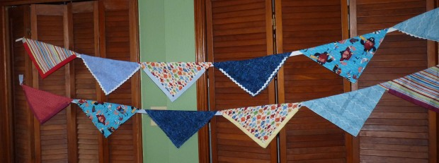 fabric pennants