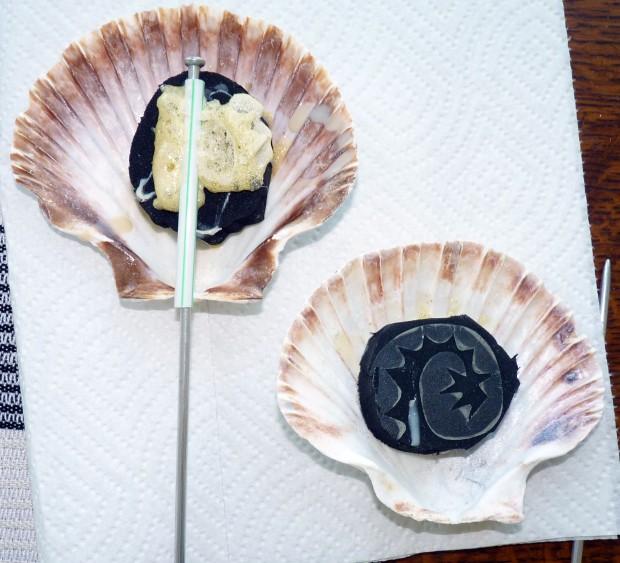 shell sponge glue
