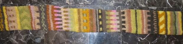 natural dye sampler
