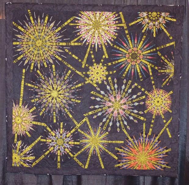 Nadelstern quilt