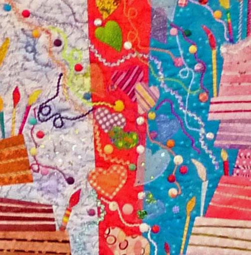 Maeda quilt detail