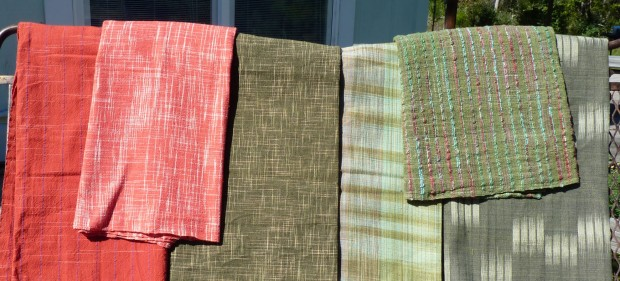 Thai cotton handwoven textiles