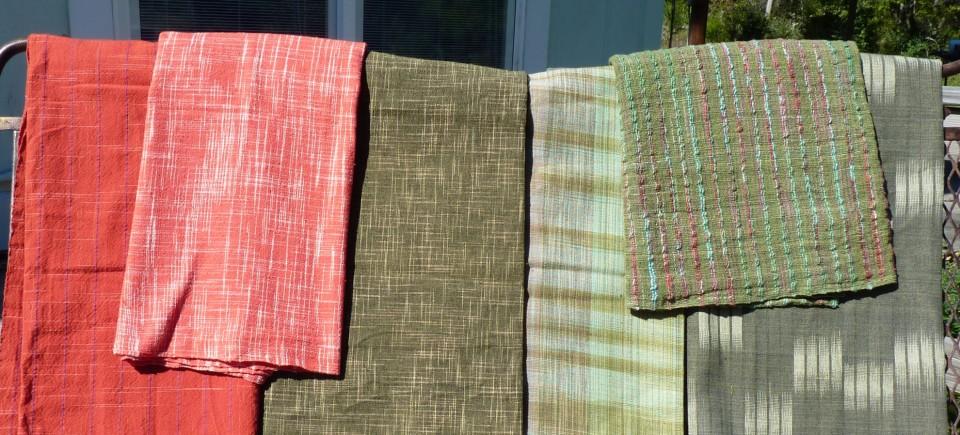 Thai cotton handwoven textiles